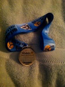 St. Luke's Finisher's medal