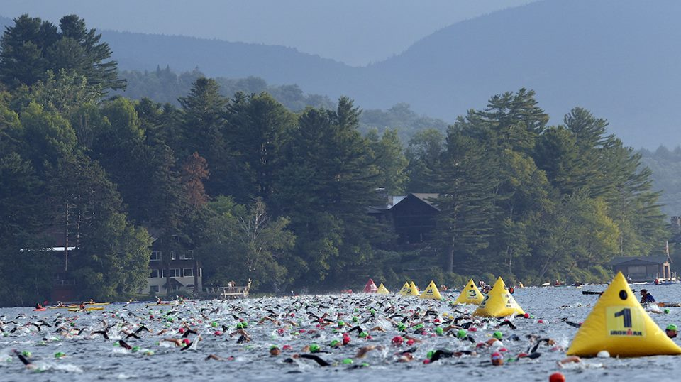 Lake Placid Swim Start
