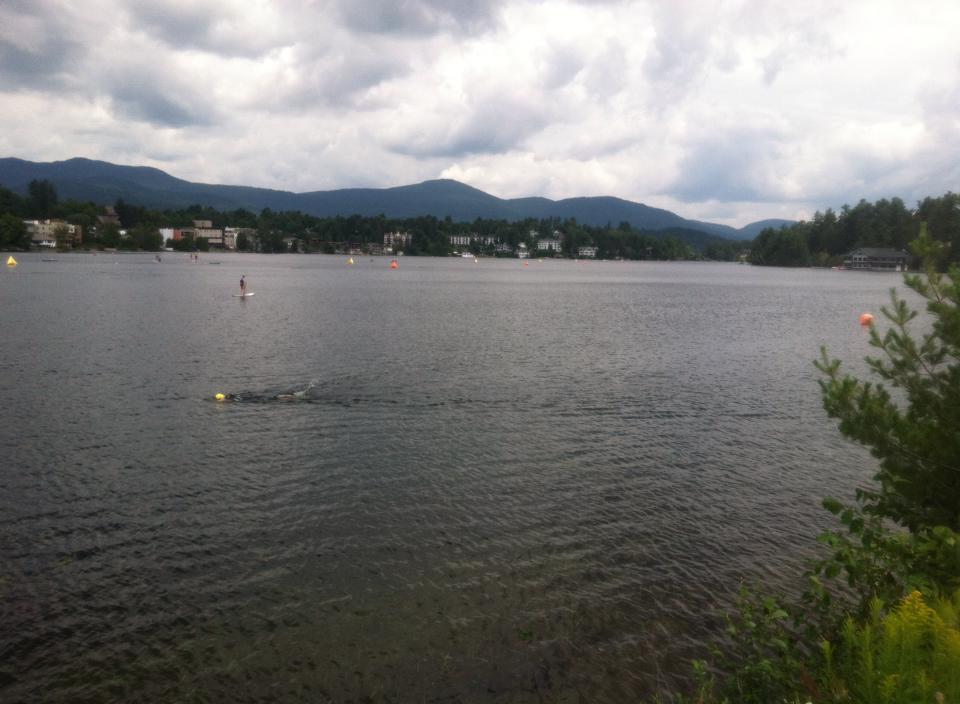 Lake Placid Swim Course