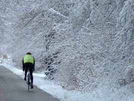 Winter Biking in Connecticut