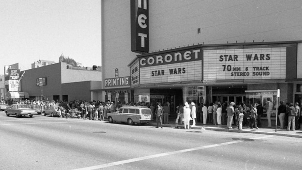 USA - Opening Weekend of Star Wars at the Coronet Theatre in San Francisco
