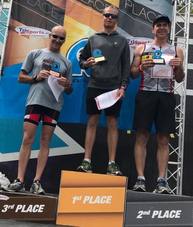 Surprise podium at a run Pocono race.