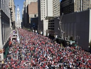 Phillies parade 2008