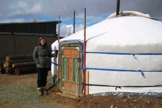 Our Mongolian home